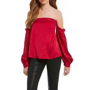 1. State off shoulder top blouse NWT small